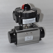 China made cheap price high quality APL series pneumatic ball valve limit switch box with double 3/4 NPT connection