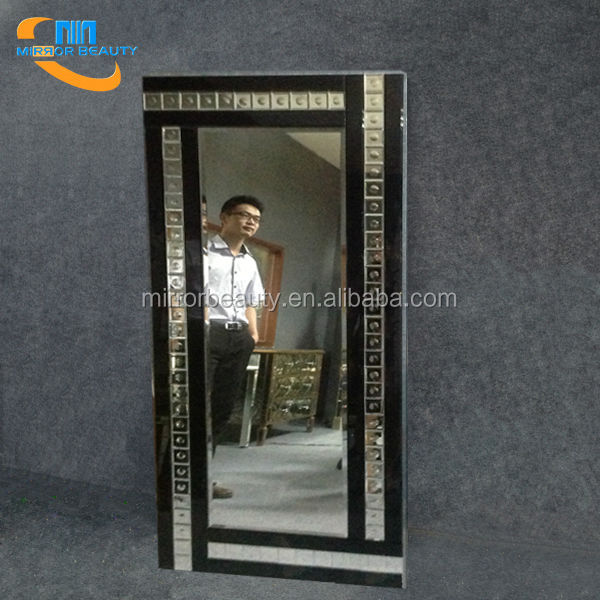 Modern full length wall mounted decoration bubble mirror manufacturer