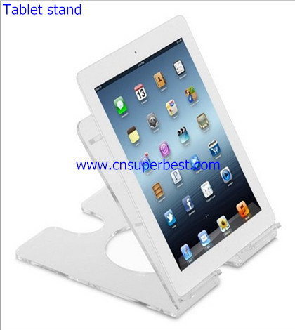 Crystal universal acrylic tablet stand