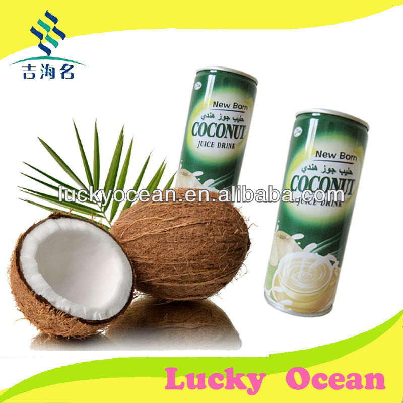 Halal coconut milk drink in china