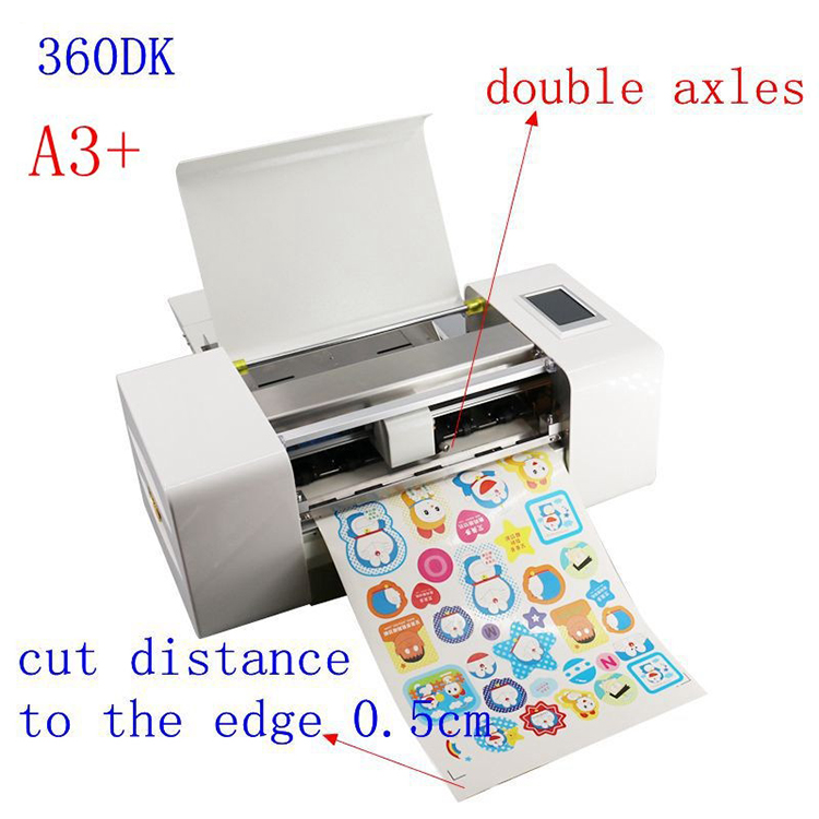 vinyl sticker manual feed hand die cutting machine for sticker labels automatic china