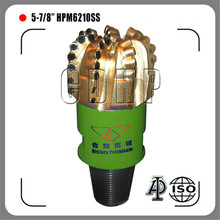 "5 7/8"" PDC bit with high ROP, long working life pdc bit, oil welling drill bit"