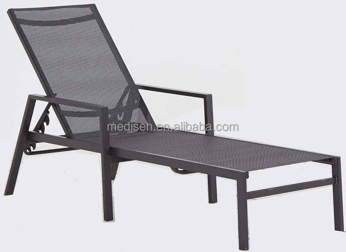 Outdoor furniture aluminum daybed