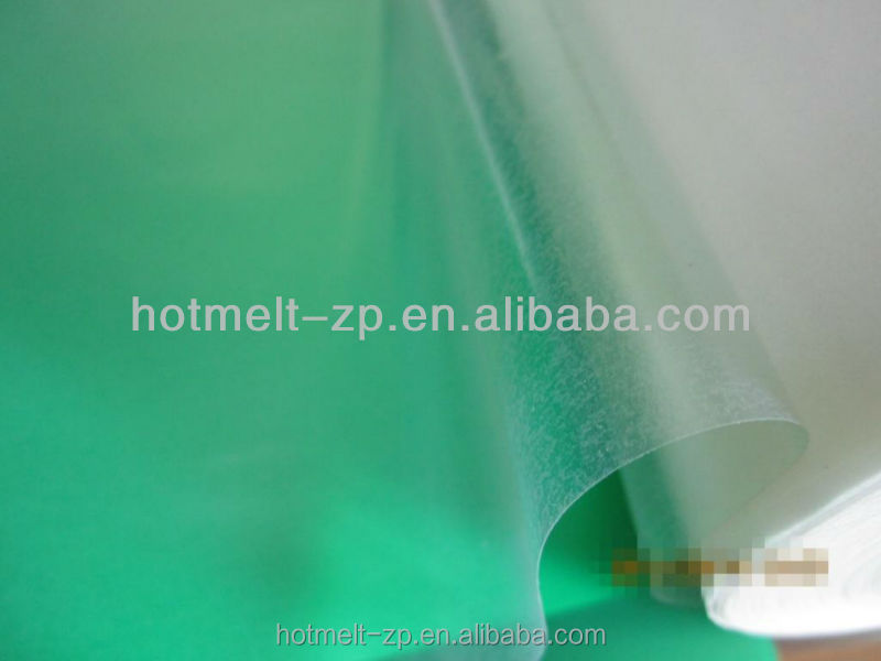 transparent double side hot melt glue film for Auto Foot Pad