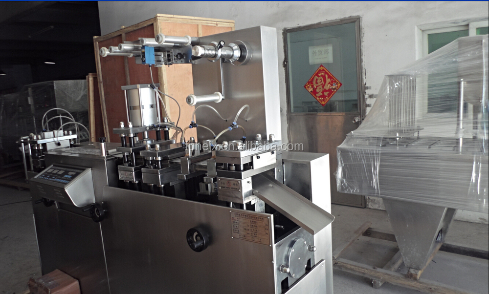 DPP-80 automatic thermoforming forming packing small cup making filling sealing machine