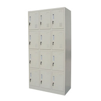 Hot Selling School Metal Storage 12 Doors Steel Lockers