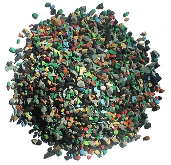 recycled tyre sbr rubber granules Football Artificial Grass Recycled EPDM Rubber Granule