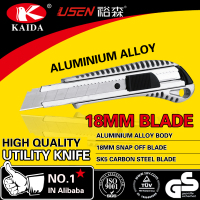 Aluminium Alloy 18 mm Snap Off Blade Hot Utility Cutter Knife
