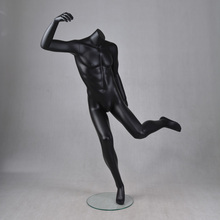 cheap male jointed wholesale athletic football mannequins frp sports models for sale