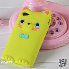 Wholesale customized design 3D silicone mobile phone case for iphone