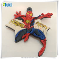 Logo Brand Rubber Spider-man Soft Label