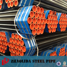 Contruction material carbon Iron schedule 40 black steel pipe