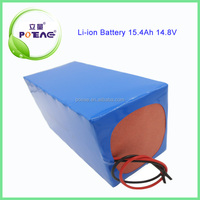 Green power li-ion type 15.4ah 14.8v lithium battery for electric bike