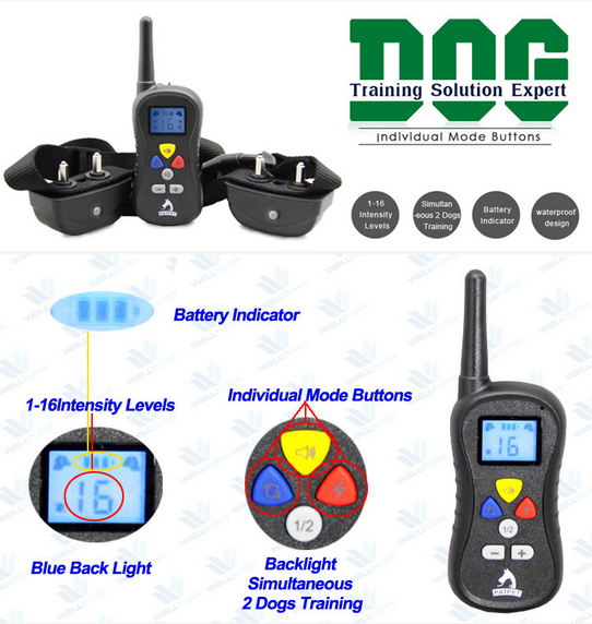 Productos Innovadores Remote Control Dog Training Collar