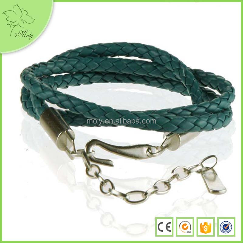 Candy Color PU Leather Braided Round Strap Waist Chain Slender Belt for Woman Lady