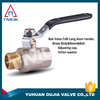 TMOK factory stock gas,water,oil Media forged BSP full port brass ball valve with private label on handle CW617n material