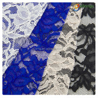 Bailange wholesale white bridal lace fabric flower lace fabric african lace fabrics