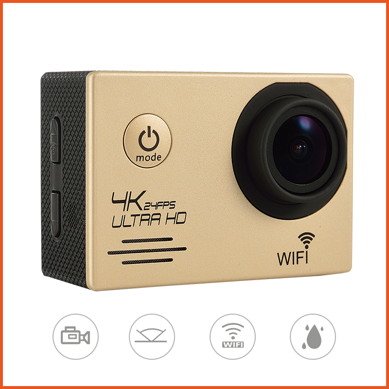 4K Waterproof Built-in WIFI SJ8000 Action Camera