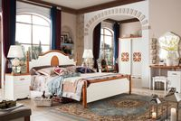 Wholesale Modern Low Prices cheap wooden children wooden double bed designs with desk and wardrobe