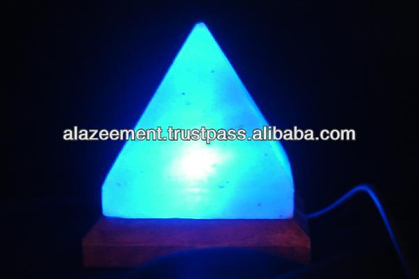USB Salt Lamp - USB Himalayan salt lamps for your computers with multi color LED lights.