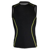 Custom sublimated sleeveless rash guards