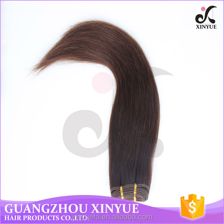 natural color human hair weave grade 6a straight hair style for African black woman