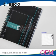 School supply cheap new style spiral notebook color pages