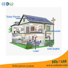 1KW Solar Electric Generating System FS-S010 With Two 80w 12v Solar Panels