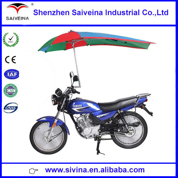 shenzhen saiveina 1.73m diameter big motorcycle umbrella sun and rain umbrella
