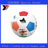 yono brand wholesale size 4 indoor soccer ball pvc football cartoon ball