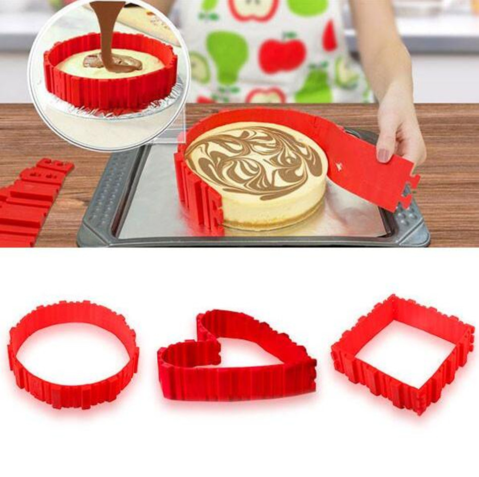 2017 newest factory supply of high qualityhot sale on Amazon silicone innovation DIY cake mould