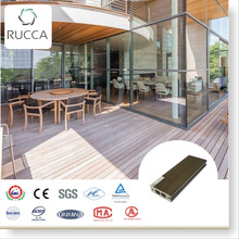 2016 Foshan Factory direct composite decking flooring in engineered plastic flooring with wpc deck