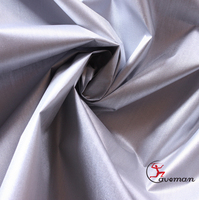 Car Cover,Blackout 170T Silver Coating Coated sun reflective Polyester Taffeta fabric