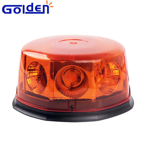 40W COB octagon magnetic car roof top led rotating emergency beacon for construction truck