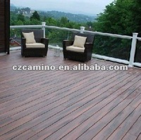 wpc outdoor patio decking plank floor covering