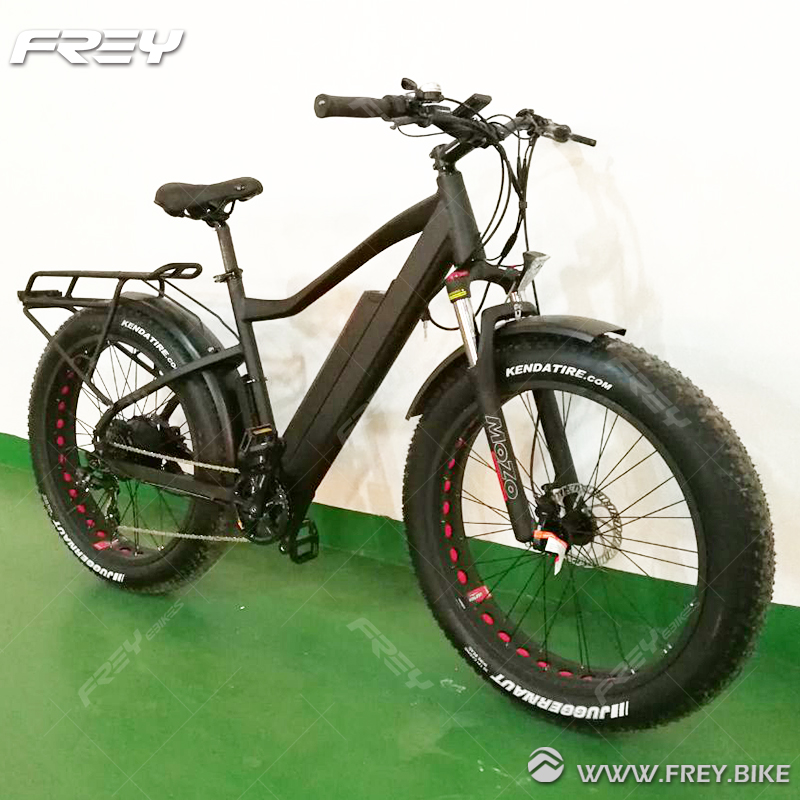"LCD Display 26""Double-Wall Alloy Rim Fat Tire Mountain Bike"