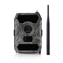 No-wire portable indoor & outdoor keepguard 12mp infrared night vision gsm solar wildlife hunting trail camera with mms/gprs