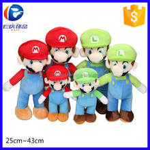 2016 Hot Selling Plush Toy Super Mario (15cm, 25cm)