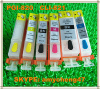 Use For Canon Compatible Ink Cartridge Pgi820 Cli821bk/c/m/y