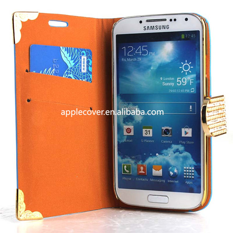 For Samsung S4 Crocodile Bling cases,for s4 copy 1:1