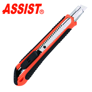 ASSIST Retractable Utility Knife with 9mm blade