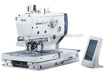 BSM-5820 Automatic eyelet botton holing sewing machine
