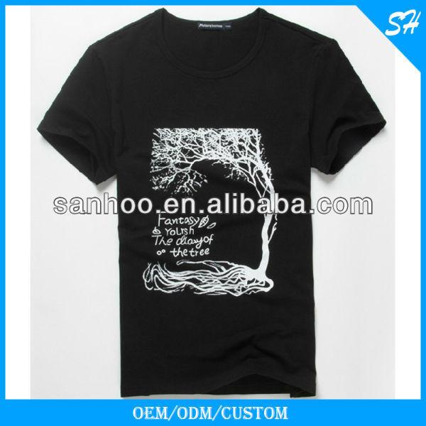 Wholesale Cheap Bamboo Man Tshirt