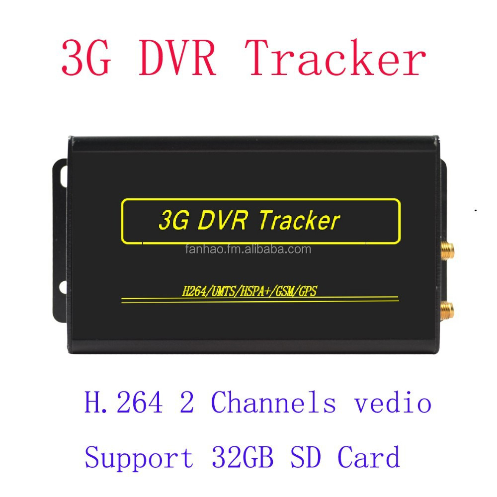 High quality 4 channels 3G mobile DVR SD Card MDVR with GPS tracking and monitoring provide with free platform