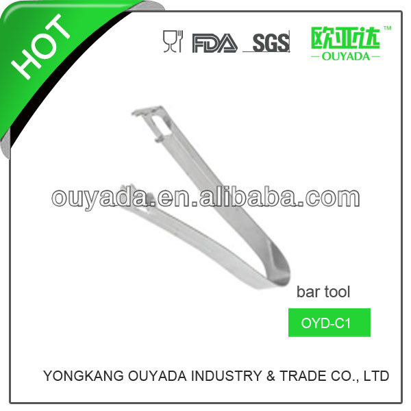 metal bbq stainless food tongs