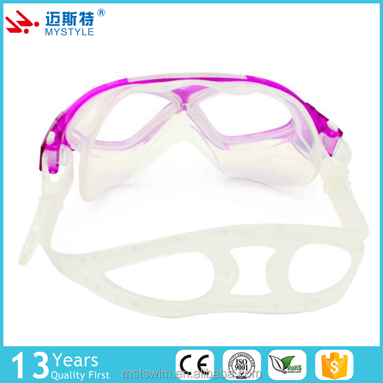 Newest best custom adult sport swimming goggles