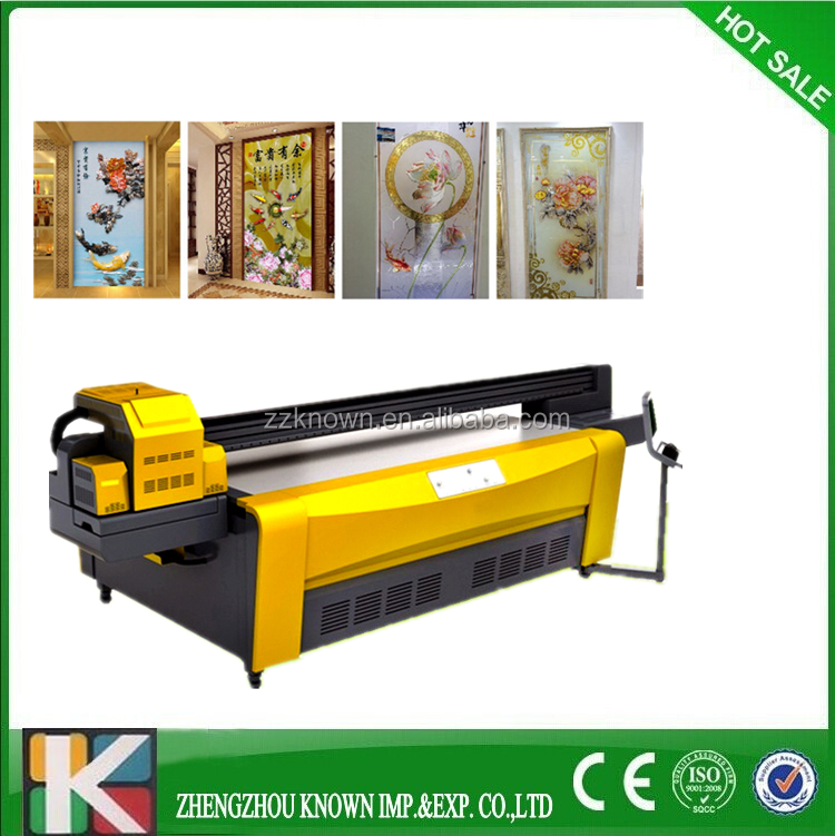 Industry 3D uv wall glass printer/floor glass flatbed uv printer printing uv on alibaba