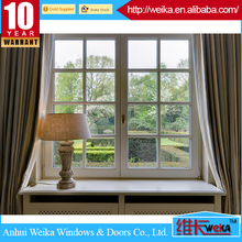 Swing opening PVC profile doors and pvc windows double glass casement window