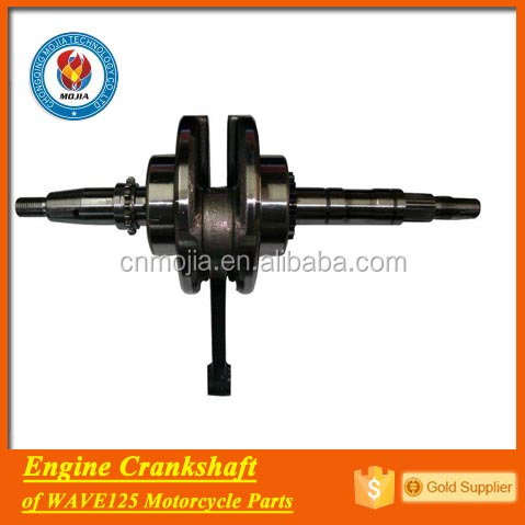 motorcycle engine spare parts crankshaft for wave 125