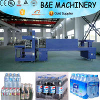 Automatic Plastic Film Heat tunnel Shrink Wrapping Machine/Shrink Packing Machine For PET Water Bottle